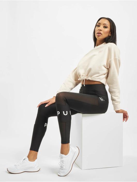 Puma Pullover Frauen Heavy Classics Cropped In Rosa