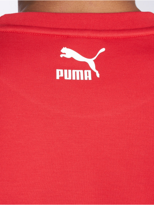 Puma Pullover Retro Dk rot