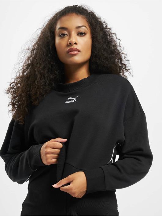 Puma Pullover Cropped schwarz