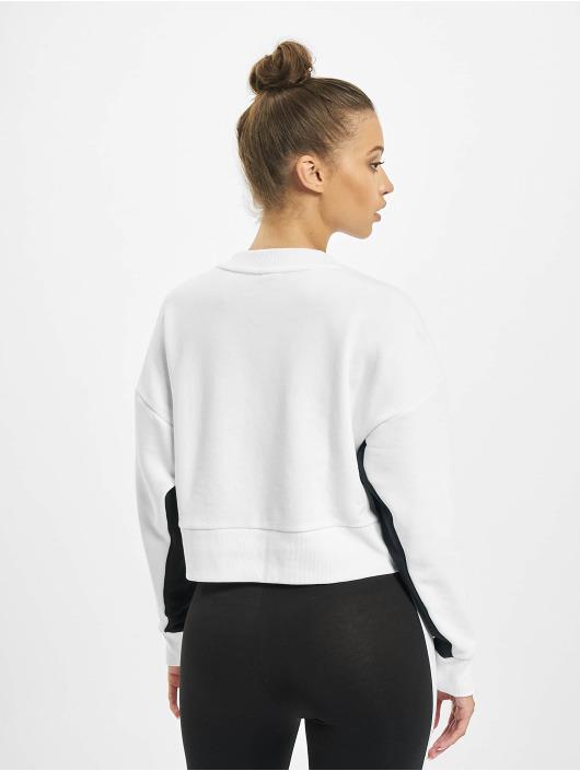 Puma Pullover Classics Cropped weiß