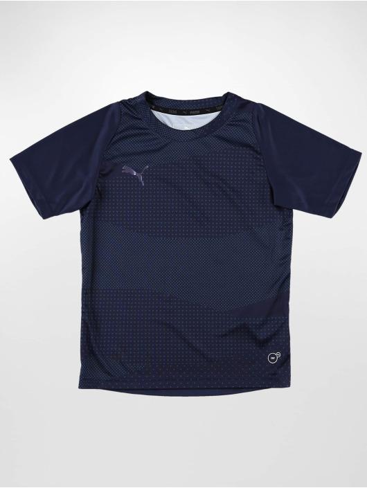 7e674ce1b34 Puma   ftblNXT Graphic Core JR bleu Enfant Shirts de Sport 583772