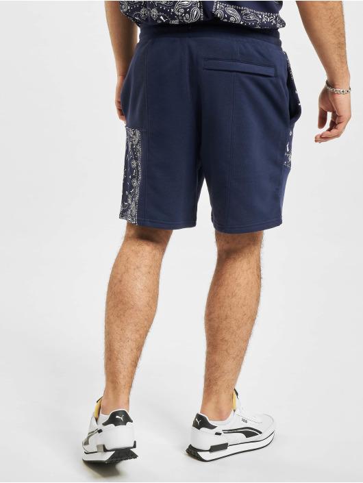 Puma Short OB Patchwork bleu