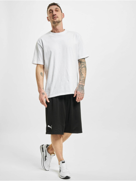 Puma Shorts Basketball Practice nero