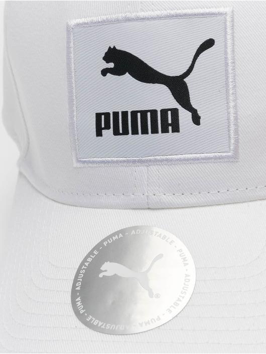 Puma Snapback Archive Logo Label biela