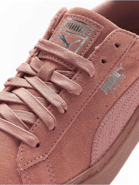 Puma Sneaker Basket Platform braun