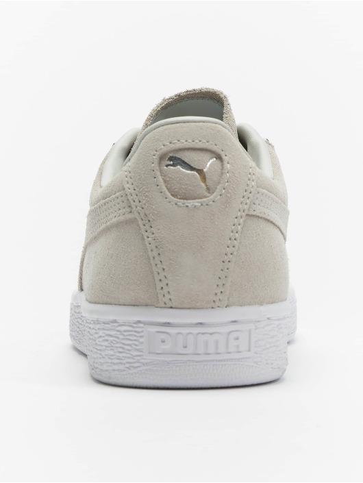 Puma Sneaker Suede Jewel Metalic grau