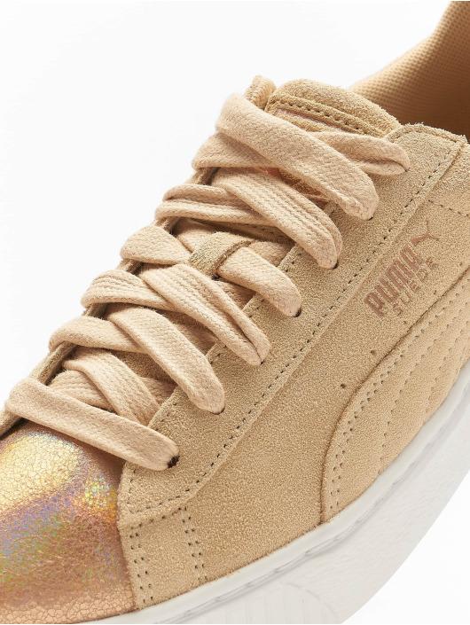 Puma sneaker Suede Platform grijs