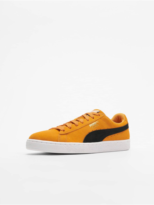 Puma Suede Classic Sneakers Orange PopPuma Black