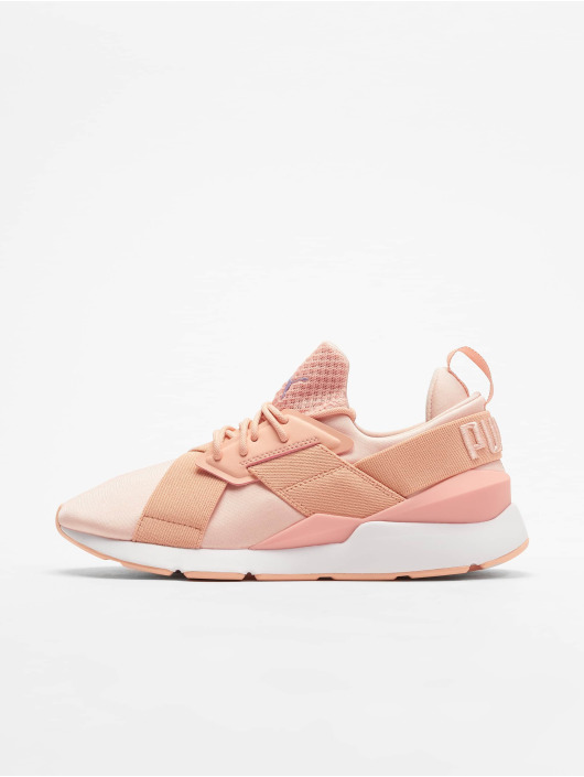 Puma Muse Satin Ep Sneakers Peach Bud/Peach Bud