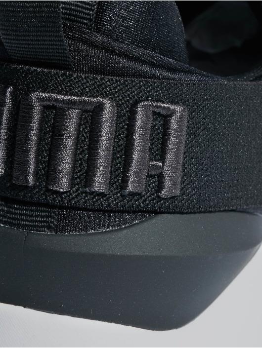 Puma Sneaker Muse Satin schwarz
