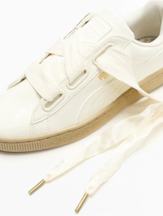 Puma Sneaker Basket Heart Patent Wn`s weiß