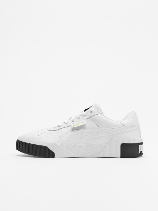 PUMA Sneakers Hellgrau Leder Herren Schuhe Angebote