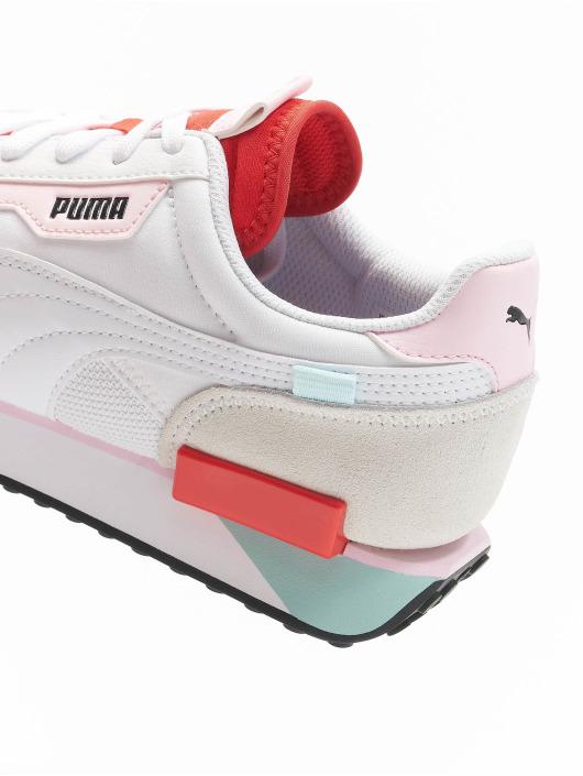 Puma Sneaker Future Rider Neon Play weiß