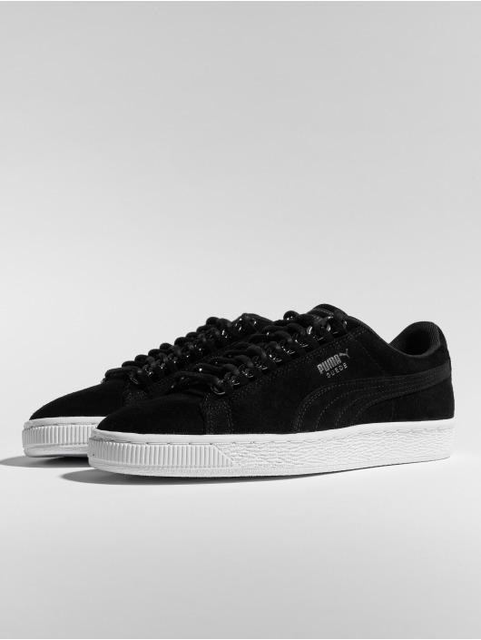 In X Puma Chain Sneaker Schoen Classic 544241 Suede Zwart Y6qS6p