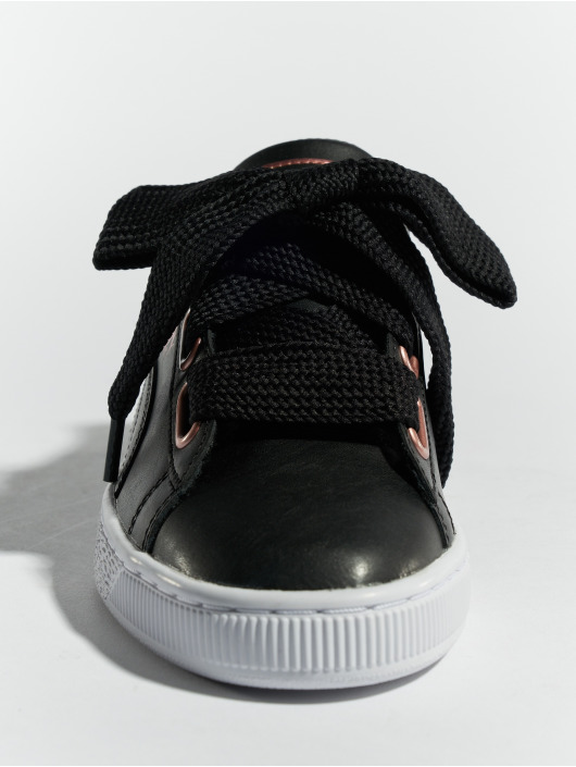 Puma Sneakers Basket Heart Leather èierna