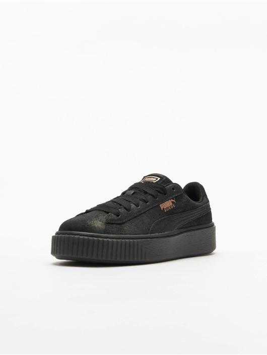 Puma Sneakers Suede Platform èierna