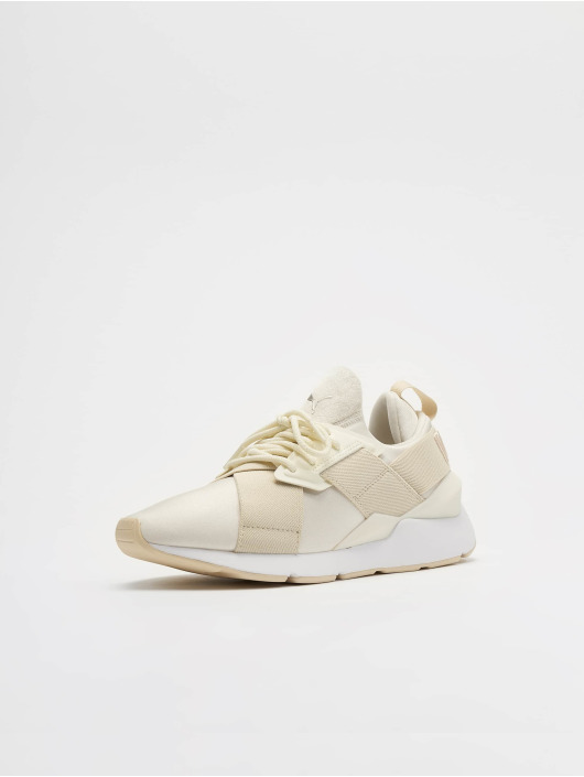 Puma Sneakers Muse Satin II bialy