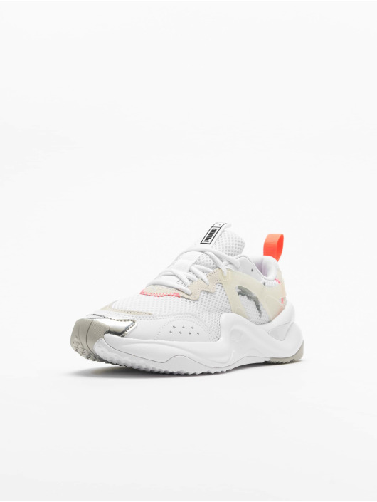 Puma Sneakers Rise Contrast bialy