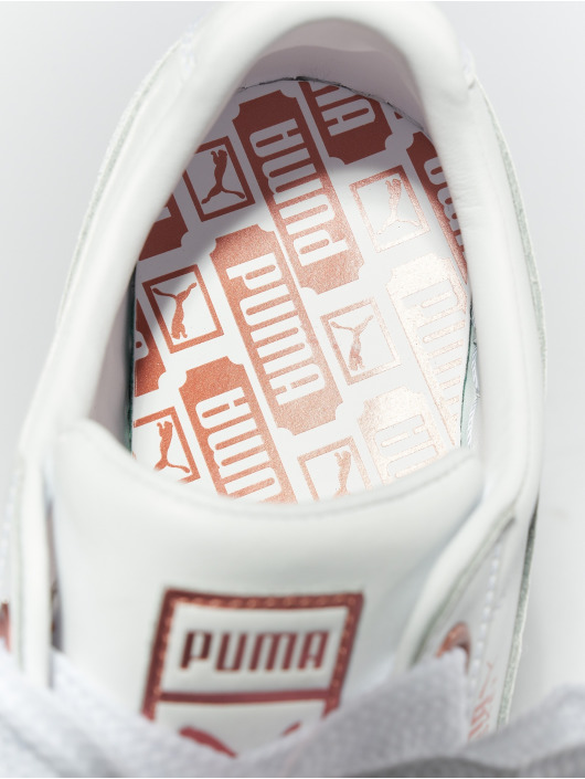 Puma Sneakers Basket Heart Leather biela