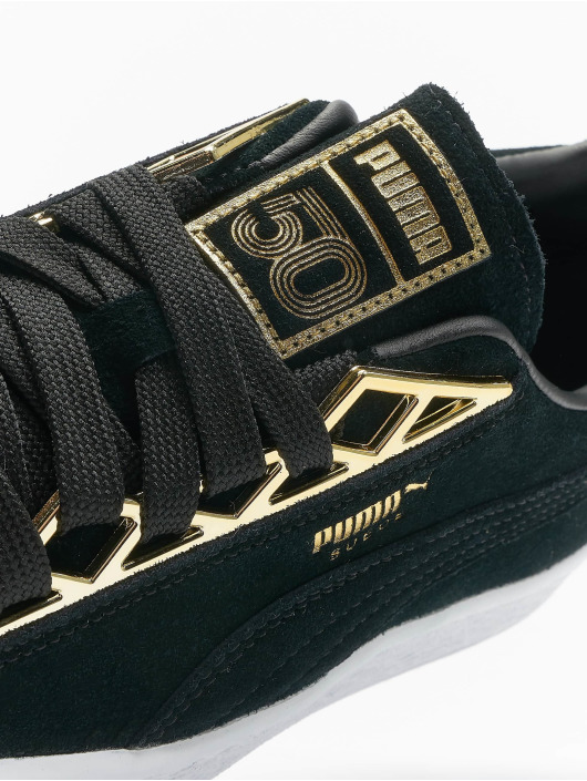 Puma Sneakers Suede Jewel Metalic black