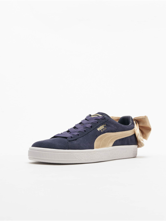 Puma Sneakers Suede Bow Varsity niebieski