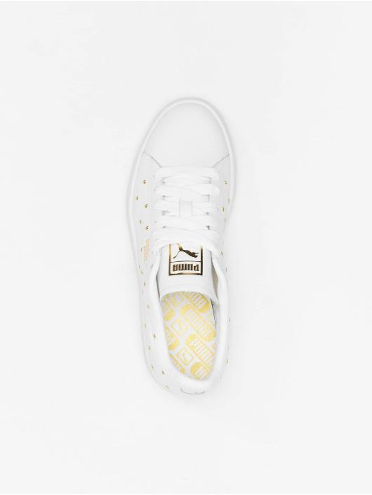 Puma Sneakers Basket Studs white