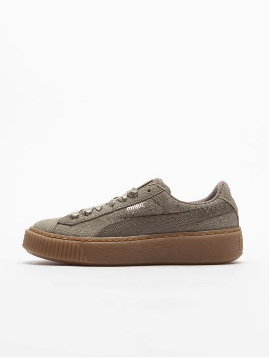 Puma Sneakers Suede Platform zelená