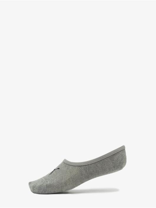 Puma Socken 3-Pack Footies grau