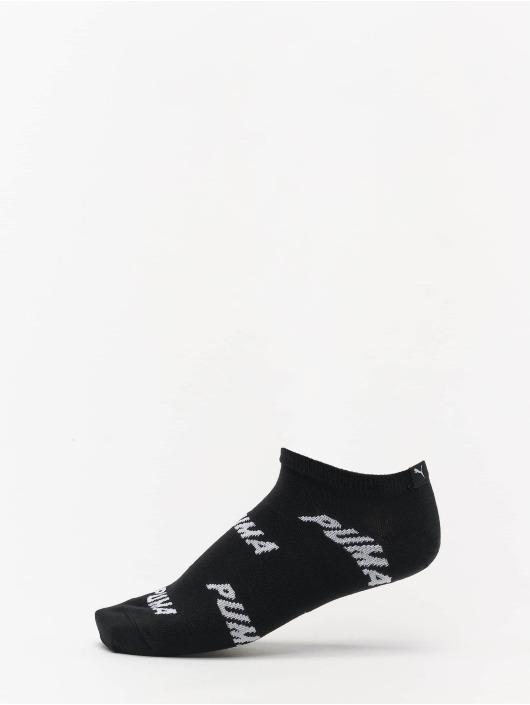 Puma Socken All Over Logo 2 Pack schwarz