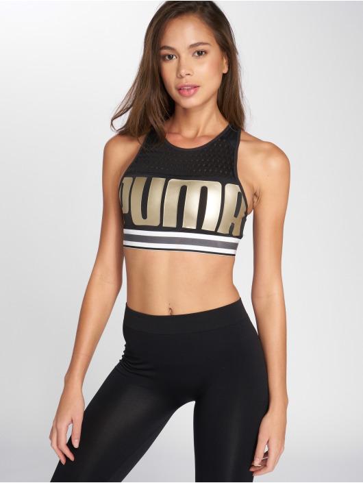 Puma Soutiens-gorge de sport Logo noir