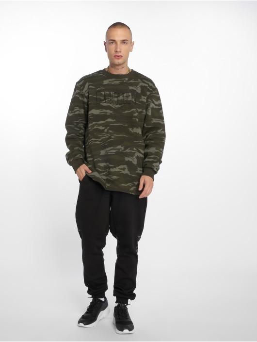 Puma Spodnie do joggingu Camo czarny