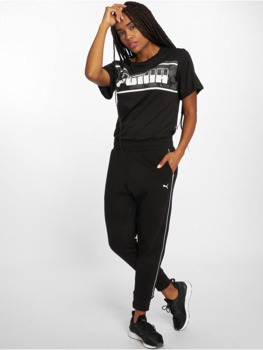 Puma Spodnie do joggingu Rebel czarny