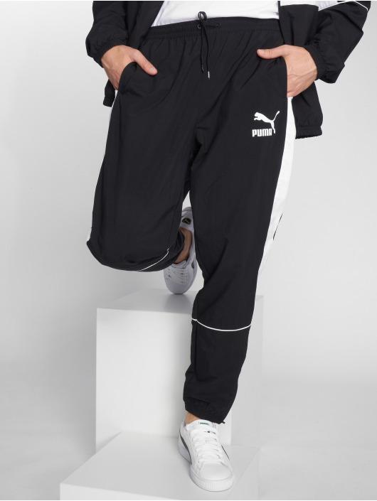 Puma Spodnie do joggingu Retro Woven czarny
