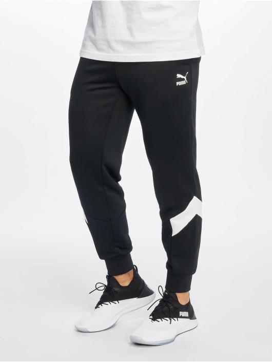 Puma Spodnie do joggingu Iconic Mcs czarny