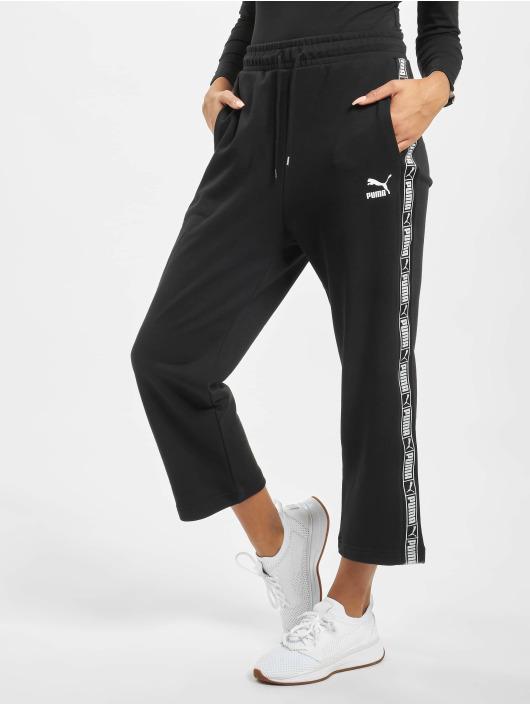 Puma Spodnie do joggingu Tape czarny