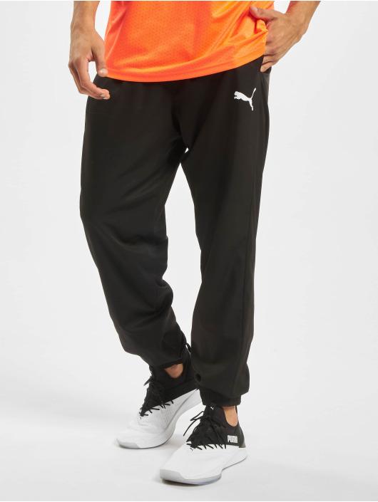 Puma Spodnie do joggingu Active Woven czarny