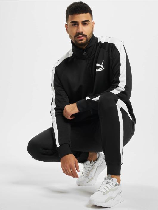 Puma Spodnie do joggingu Iconic czarny