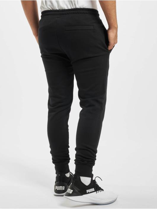Puma Spodnie do joggingu Embroidery czarny