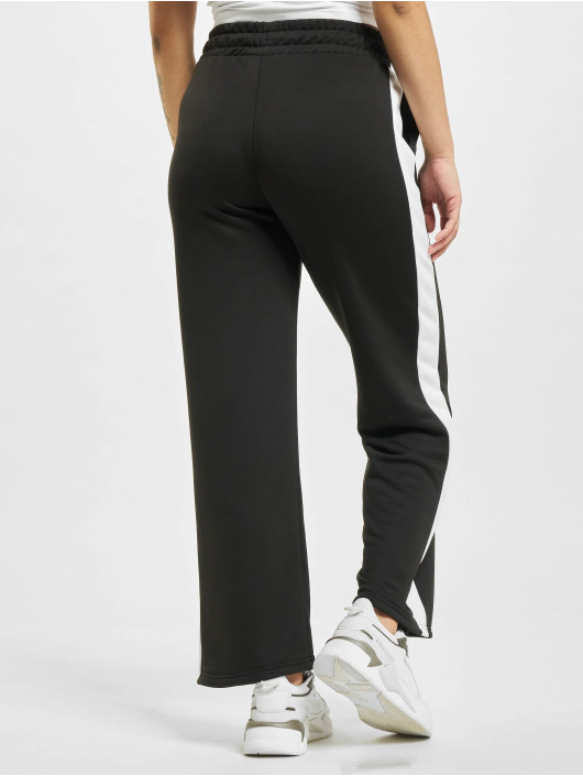 Puma Spodnie do joggingu Iconic T7 Wide Leg czarny