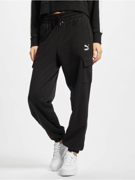 Puma Spodnie do joggingu CLSX Cargo czarny