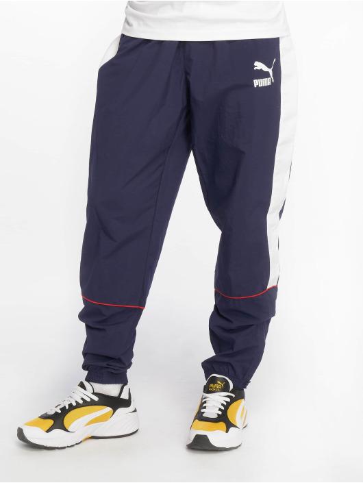 Puma Spodnie do joggingu Retro Woven niebieski