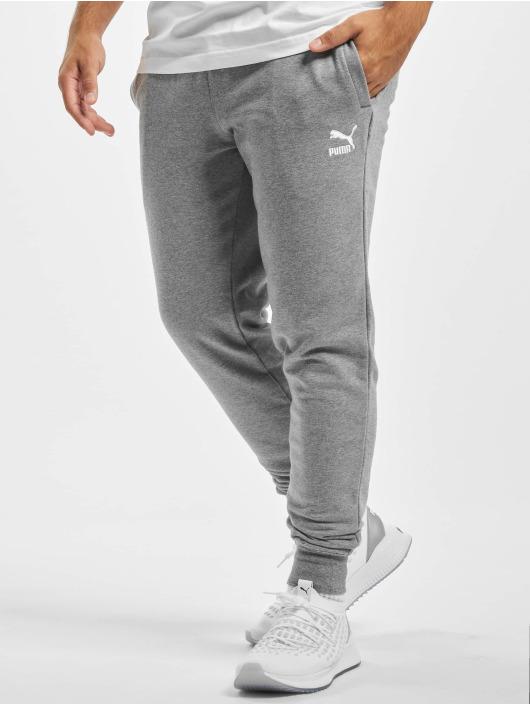 Puma Spodnie do joggingu Embroidery szary