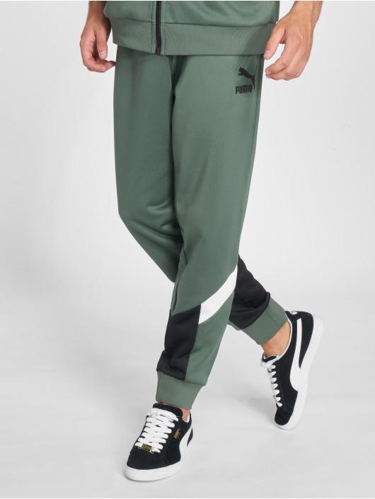 Puma Spodnie do joggingu Mcs Track zielony