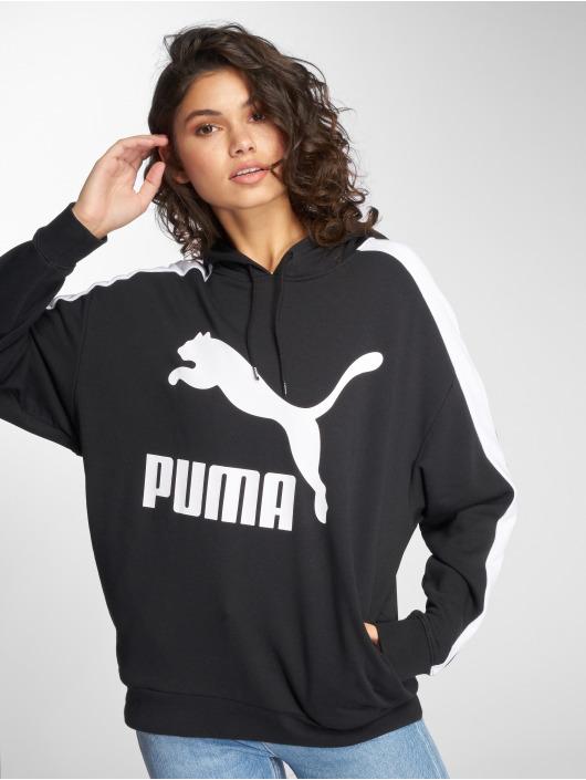 Puma Sudadera Classics Logo T7 negro