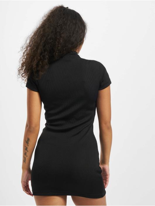 Puma Sukienki Ribbed Tight czarny