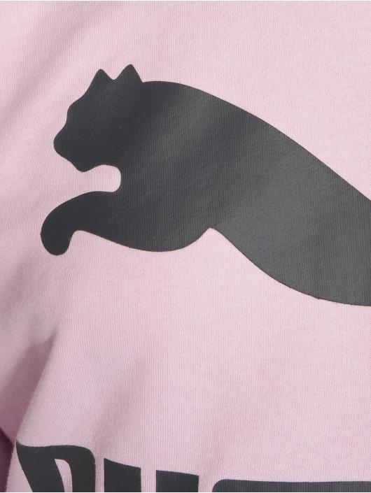 Puma Svetry Classics Logo fialový