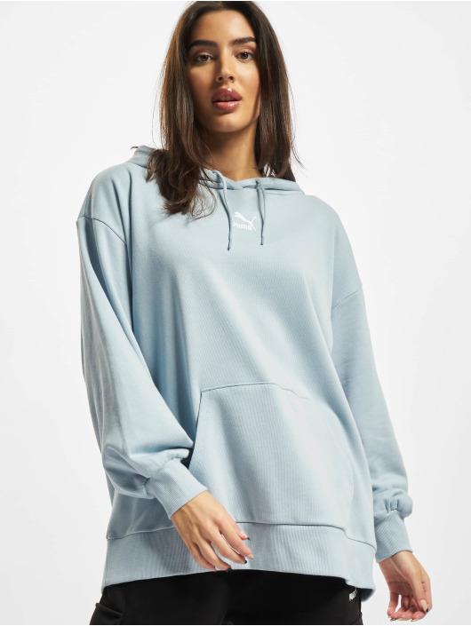Puma Sweat capuche Oversized bleu