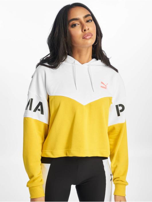 Puma Sweat capuche XTG jaune