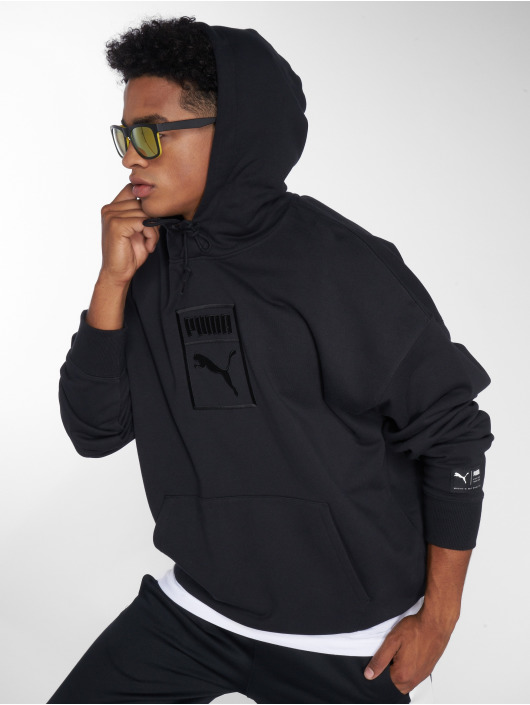 Puma Sweat capuche Downtown Oversize noir