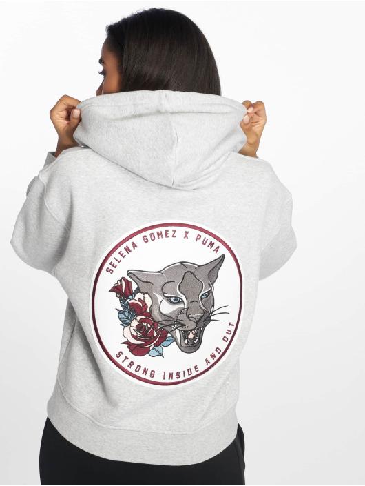 Puma Sweat capuche zippé SG X gris
